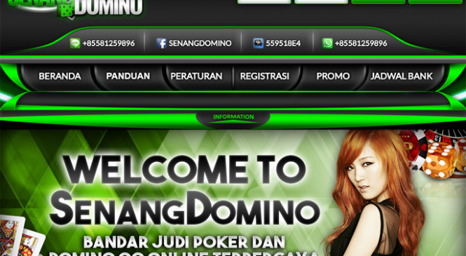 Senangdomino Situs Domino Online Deposit Via Pulsa Telkomsel