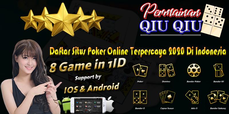 Daftar Situs Poker Online Terpercaya 2020 Di Indonesia